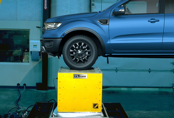 The CUBE truck_NVH testing