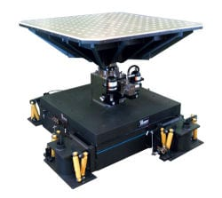 Vertical vibration test system from Team Corporation.