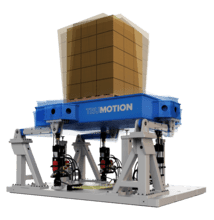 Trumotion multi- degree of freedom vibration testing equipment from Lansmont.