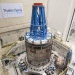 NASA Orion on Team Corporation Mdof Vibration Table – Mechanical Vibration Facility (MVF)2