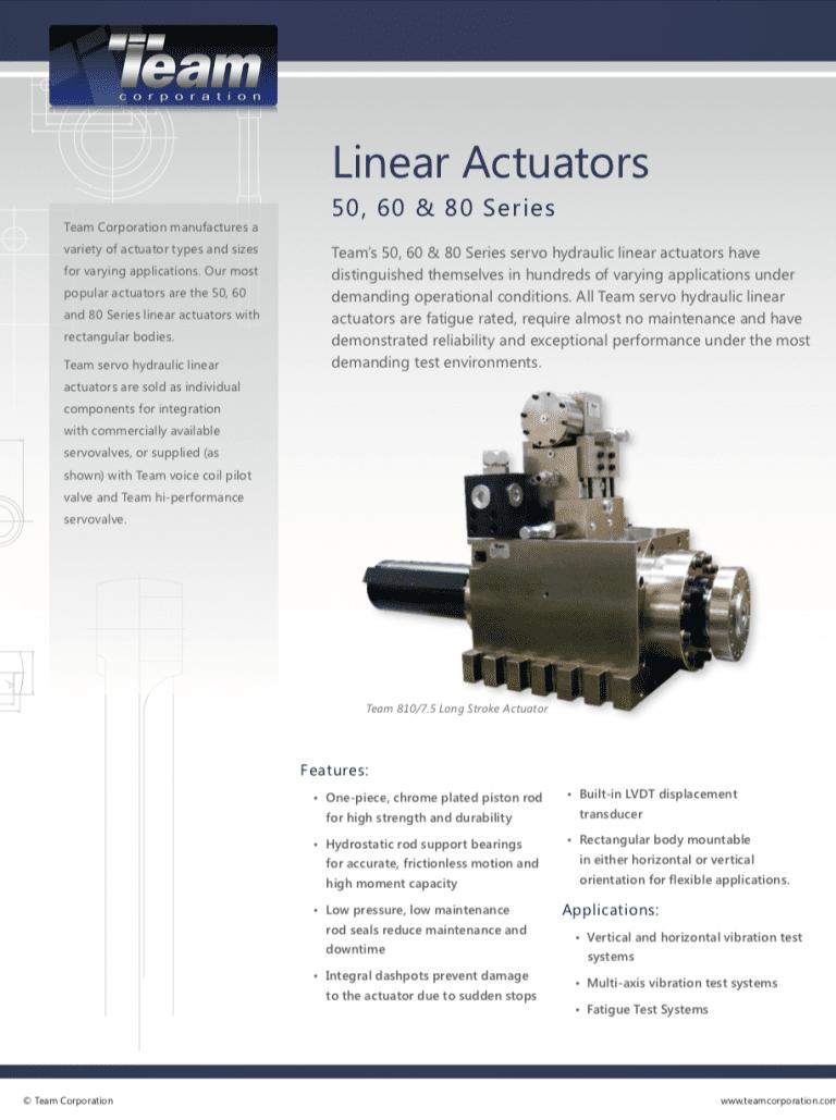 Team-Corporation-50-60-80-Series-Linear-Actuators brochure