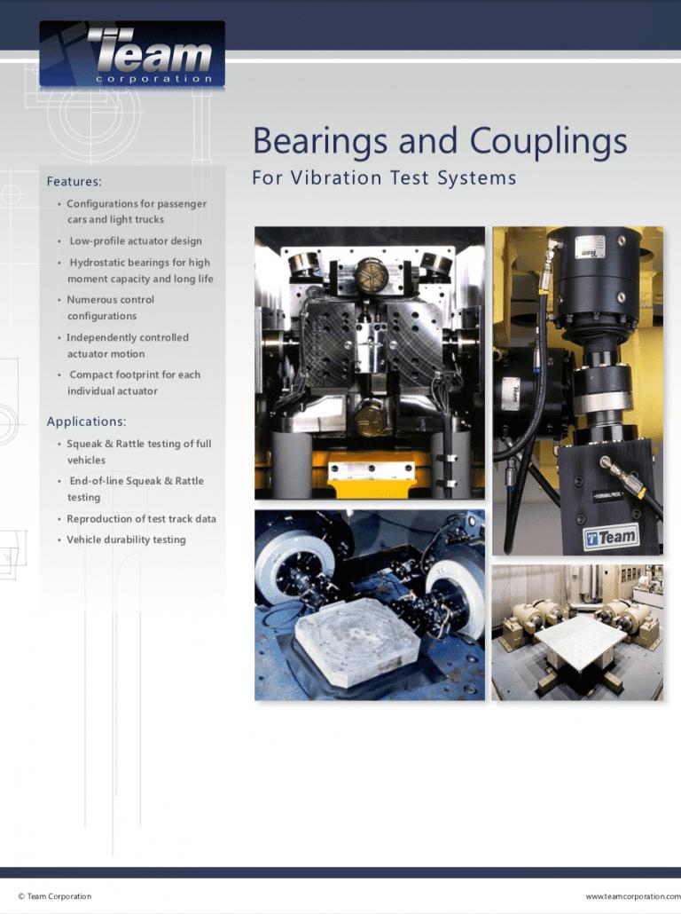Team-Corporation-Bearings-and-Couplings brochure