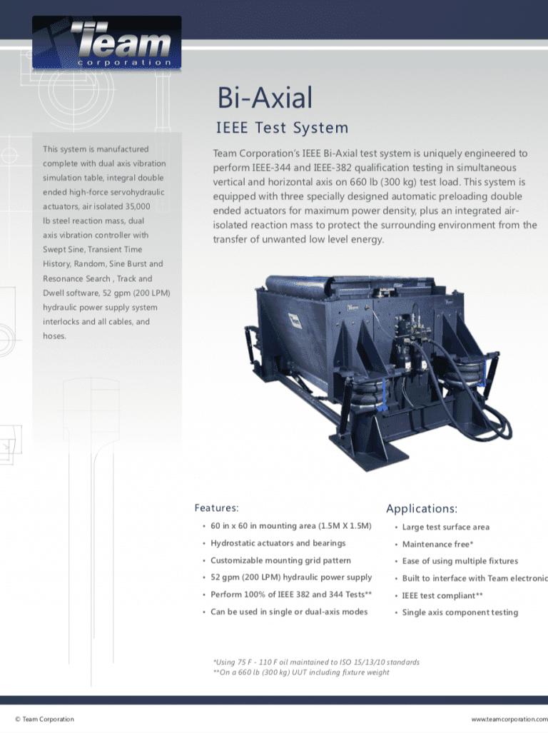 Team-Corporation-Bi-Axial-IEEE-vibration-test-system brochure
