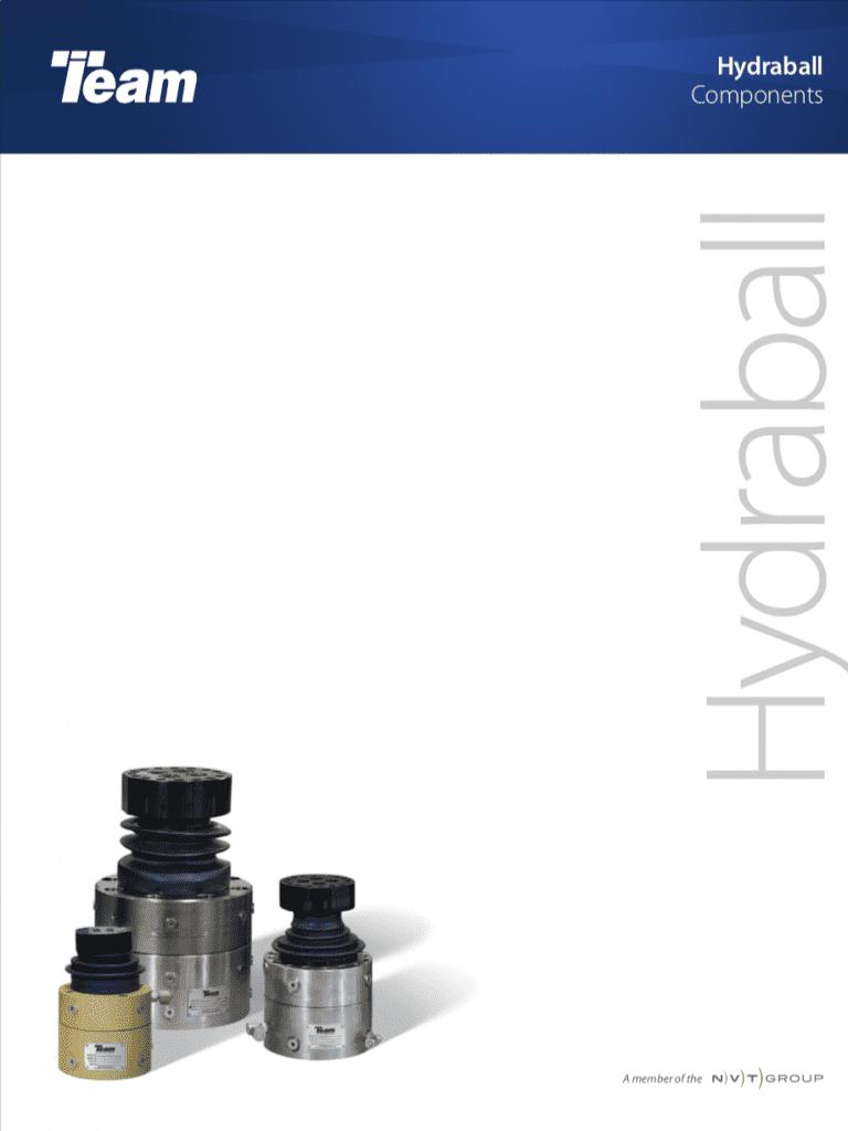 Team-Corporation-Hydraball-Ball-Joint brochure