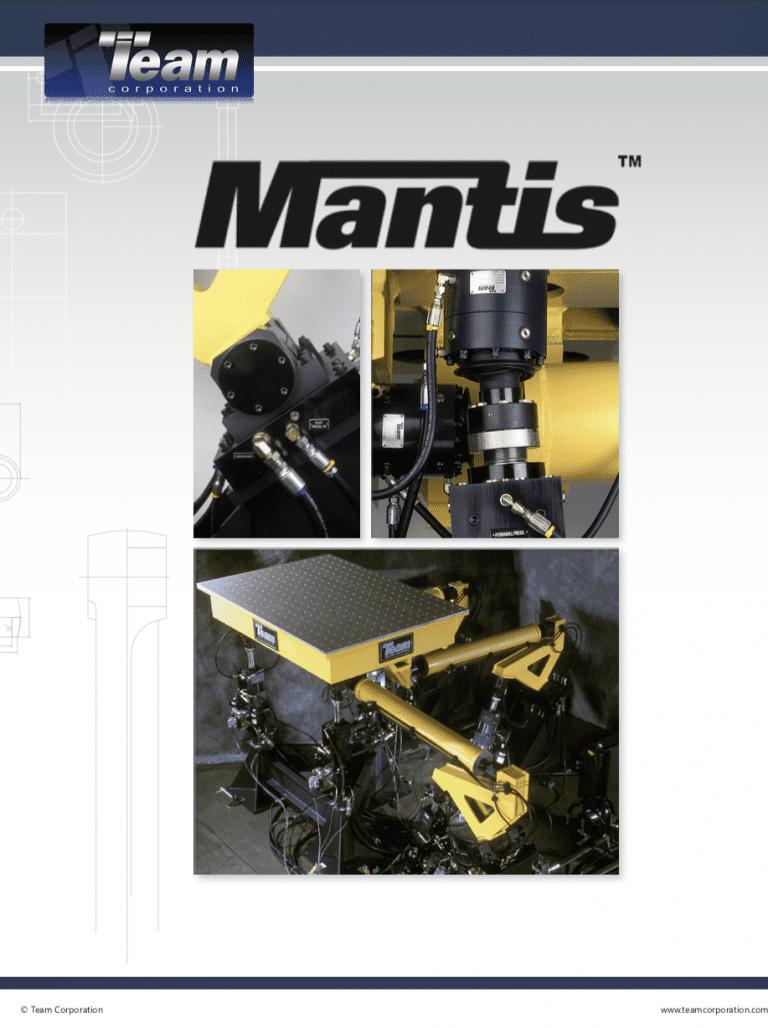 Team-Corporation-Mantis-multi-axis-vibration brochure