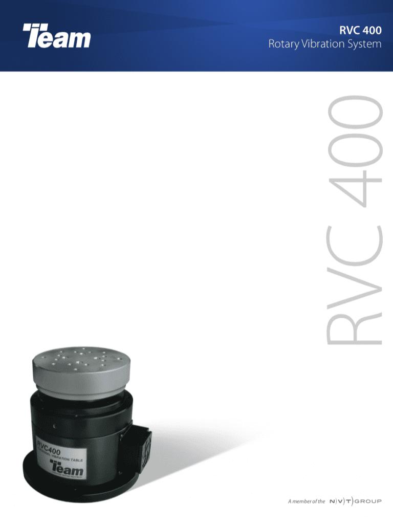 Team-Corporation-RVC400-Rotary-Vibration-System brochure