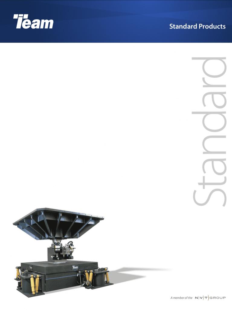 Team-Corporation-Standard-Vibration-Test-Products brochure