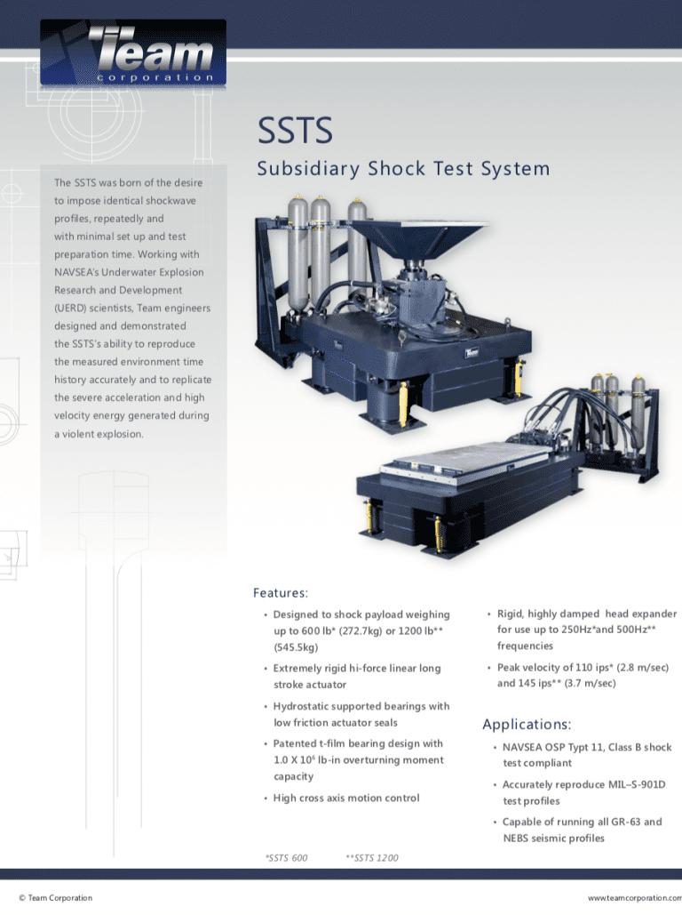 Team-Corporation-Subsidiary-Shock-Test-System brochure