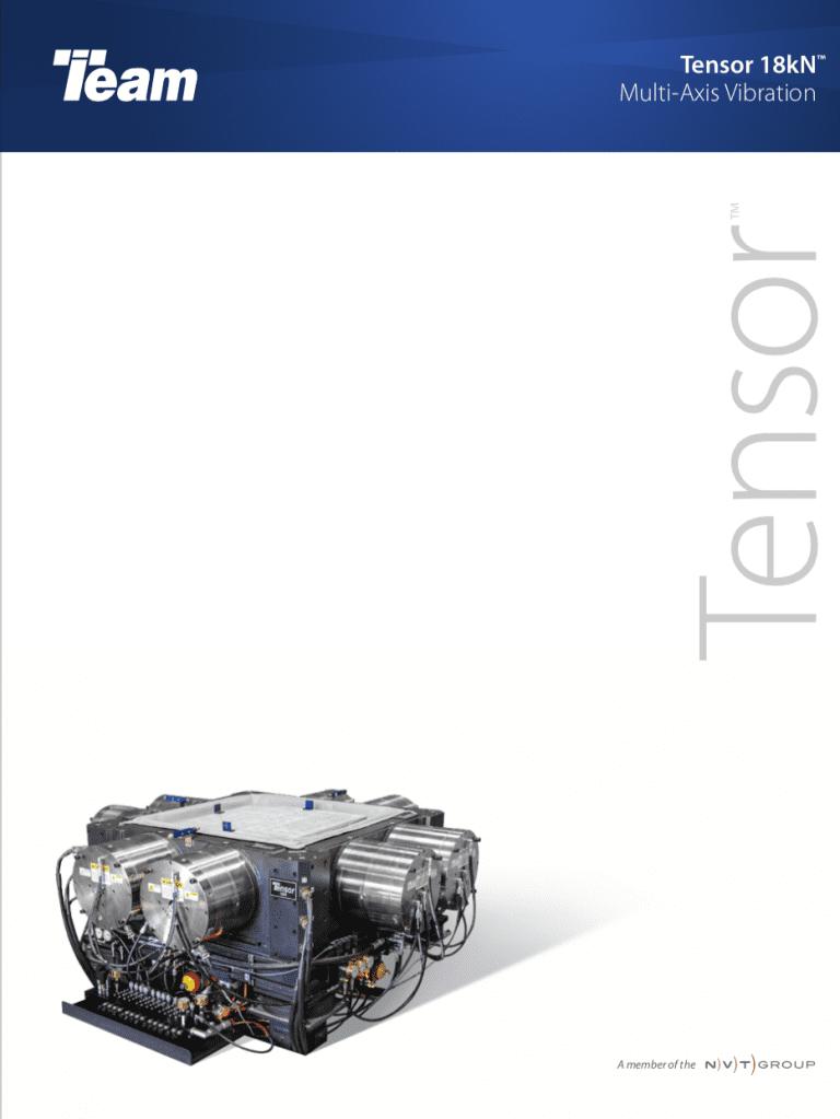 Team-Corporation-Tensor-18kN-6-DoF-vibration brochure