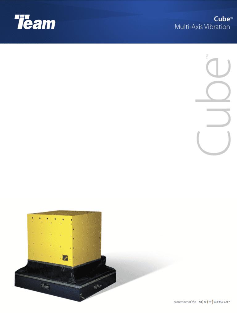 Team-Corporation-The-Cube-6-DoF-Vibration-Test-System brochure