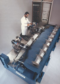 Pad Bearings are used to provide tables for Earthquake simulations of piping systems.